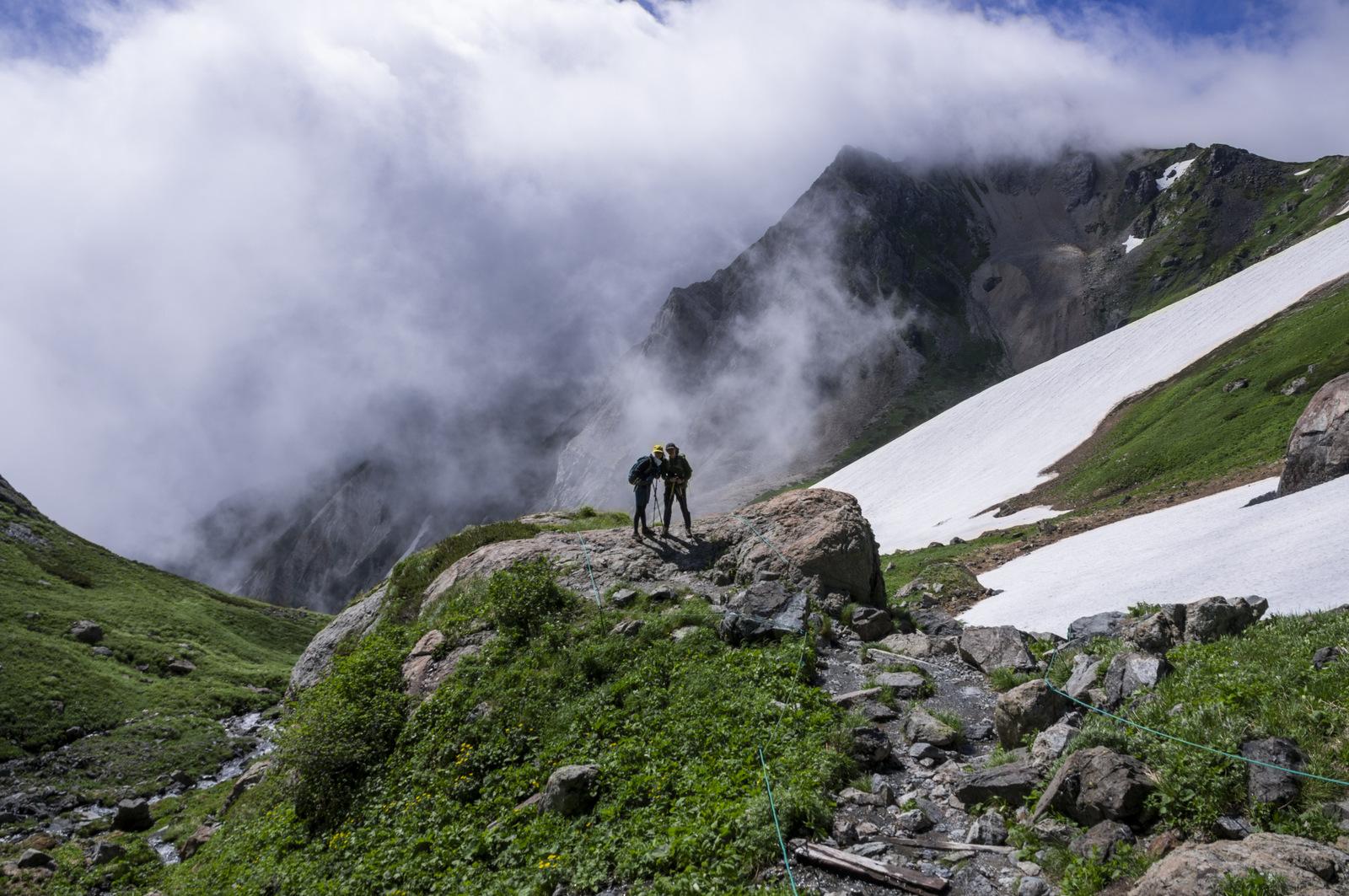 登顶白馬岳
